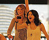 Slide Photo of Taylor Swift and Selena Gomez Bowling