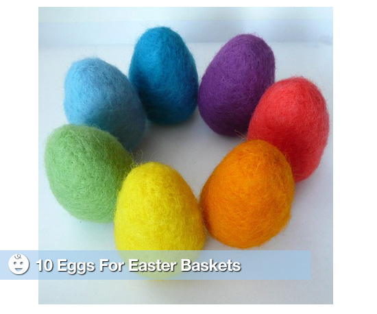 10 Eggs For Easter Baskets