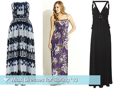 Ten Maxi Dresses for Wedding 2010