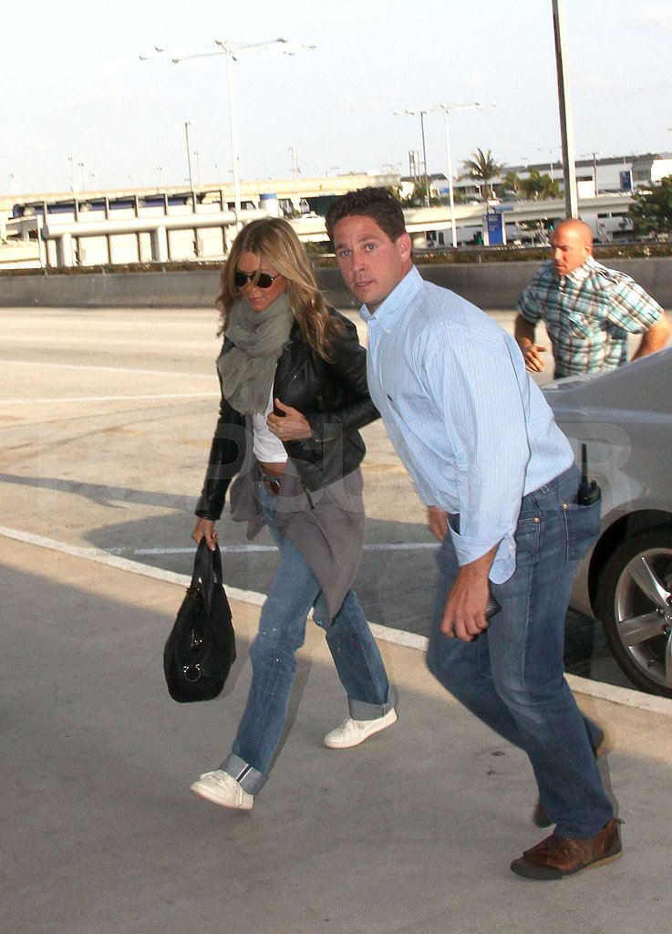 Photos of Jennifer Aniston at LAX