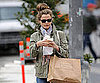 Slide Photo of Keri Russell Eating Lunch in New York