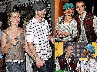 Photos of Justin Timberlake and Cameron Diaz At the 2003 Kids Choice Awards
