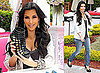 Photos of Kim Kardashian in Miami After Reggie Bush Talks to Rachael Ray About Their Split