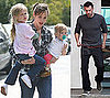 Photos of Jennifer Garner, Ben Affleck, Violet Affleck And Seraphina Affleck in LA