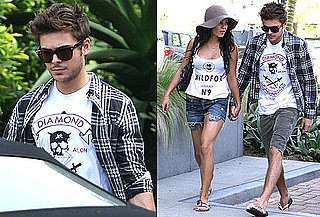 Photos of Zac Efron And Vanessa Hudgens Shopping in Malibu