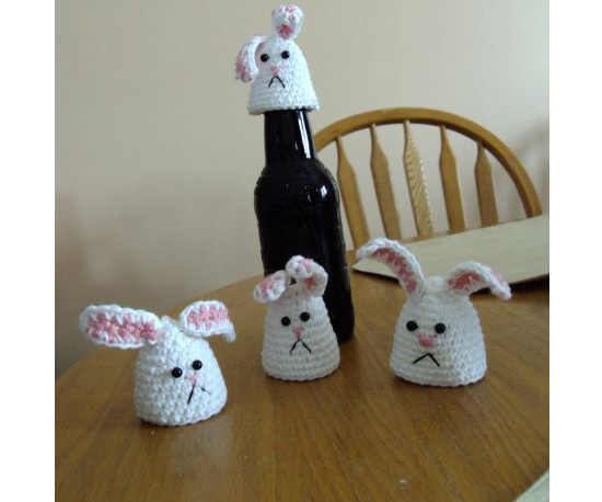 Bunny Bottle Topper
