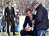 Photos of Jude Law and Guy Ritchie Filming Dior Ad in Paris