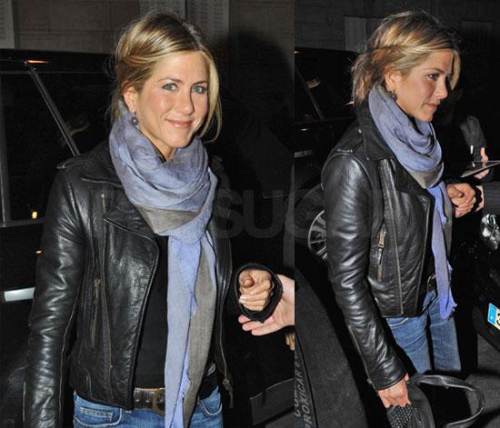 Photos of Jennifer Aniston in Paris