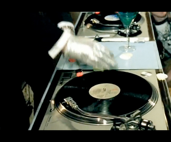 "Turntable in ""Just Dance"""