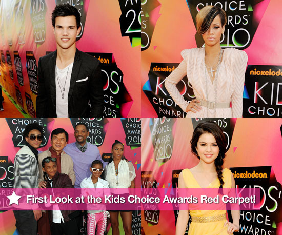 First Look at the Colorful Kids' Choice Awards Red Carpet!