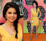 Selena Gomez at 2010 Kids Choice Awards