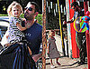 Photos of Ben And Violet Affleck Toy Shopping in LA