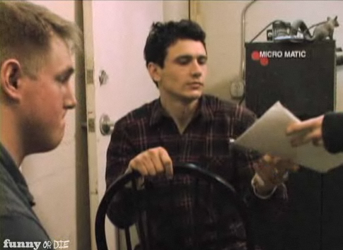 Watch James Franco Funny or Die Video For Jimmy and the Cop