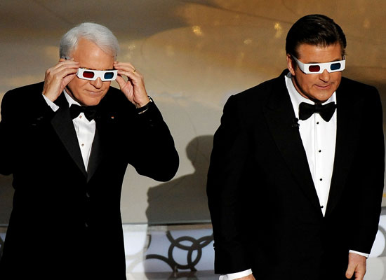Worst Use of Comedic Talent: Steve Martin and Alec Baldwin at the Oscars