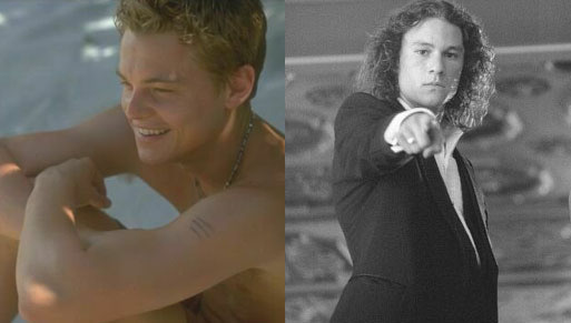 Leonardo DiCaprio vs. Heath Ledger