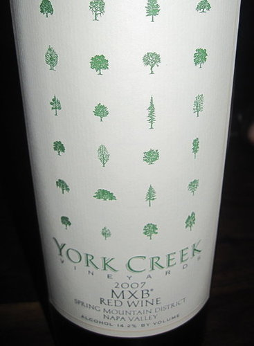 Review of York Creek 2007 MXB