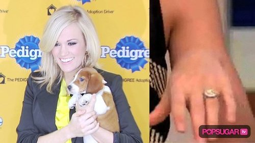 Carrie Underwood's Engagement Ring From Mike Fisher