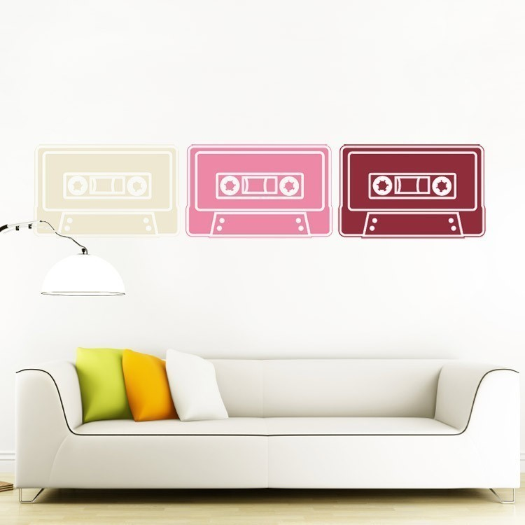 Wall Decals ($45 for three)