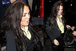 Photos of Lindsay Lohan Falling Again Amid Rumors of Bankruptcy