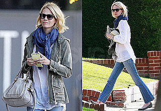 Photos of Mad Men's January Jones Walking in LA
