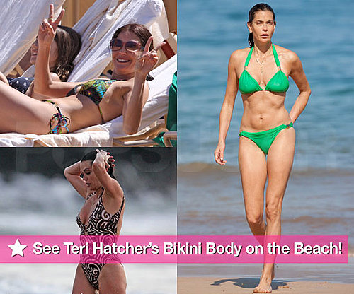 Teri Hatcher Bikini Photos in Hawaii With Emerson