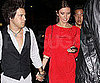 Slide Photo of Audrina Patridge and Ryan Cabrera Holding Hands
