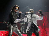 Photos of the Black Eyed Peas Live
