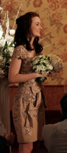 Blair Waldorf Style at Dorota's Wedding on Gossip Girl