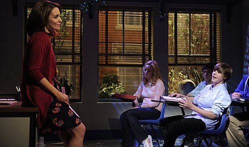 Video of Tina Fey's Teacher Skit With Justin Bieber on Saturday Night Live