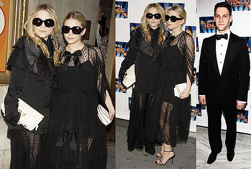 Photos of Ashley Olsen And Mary-Kate Olsen at Justin Bartha's Opening of Lend Me a Tenor on Broadway 2010-04-05 17:00:13