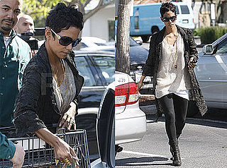 Photos of Halle Berry Grocery Shopping in Los Angeles