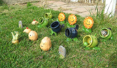 Plants vs. Zombies Lawn Ornaments