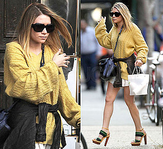 Ashley Olsen Shopping in NYC
