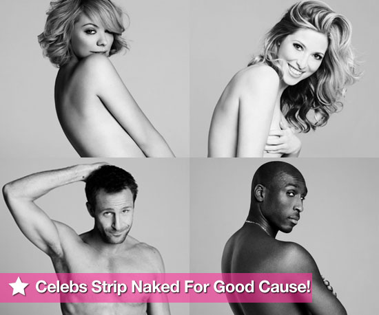 See Celebrities Strip Naked For a Good Cause!