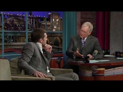 Sam Worthington talks to David Letterman about Avatar, Australia and Clash of the Titans
