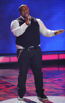 Michael Lynche Saved From Elimination on American Idol