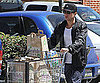 Slide Photo of Ryan Phillippe Leaving Whole Foods With a Cart Full of Groceries in LA