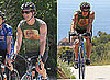 Photos of Matthew McConaughey Biking in Malibu