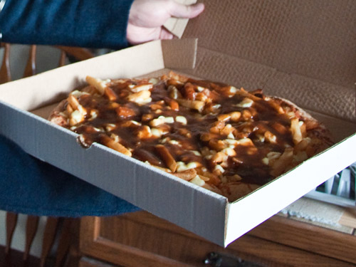 Would You Eat This Poutine Pizza?