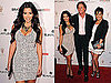 Pictures of Kim Kardashian, Kris and Bruce Jenner at a Red Carpet Event at The Grove