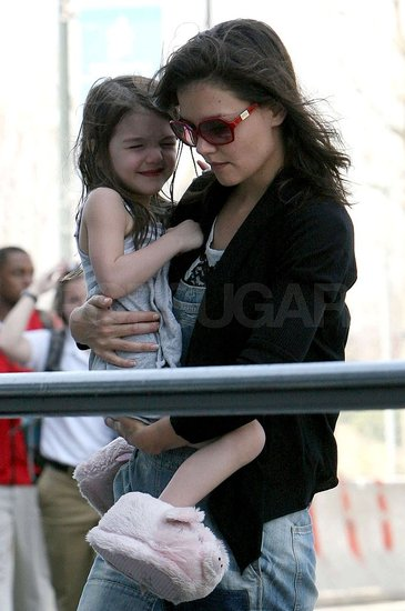 Photos of Katie and Suri