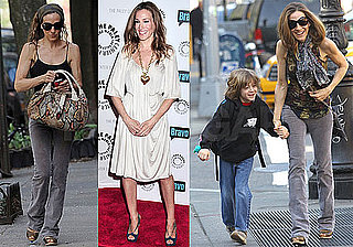 Pictures of Sarah Jessica Parker Introducing Her New Show, Walking James Wilkie to School