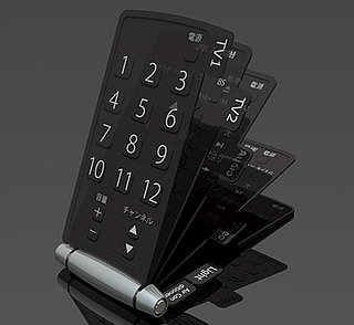 All-in-One Flip Remote From Japan: For Sale or Concept?