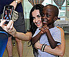 Slide Picture of Demi Moore in Haiti at Children's Hospital