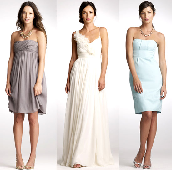 Pictures of J.Crew 2010 Spring Wedding Dress Collection