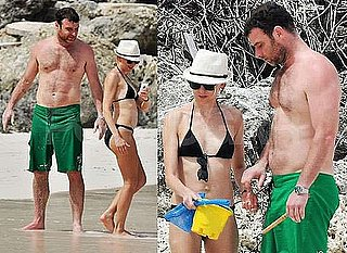 Photos of Naomi Watts in Bikini and Liev Schreiber Shirtless in Barbados Deny Rumous of Split