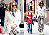 Pictures of Sarah Jessica Parker with James Wilkie in New York