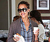 Slide Picture of Jessica Alba Getting Breakfast