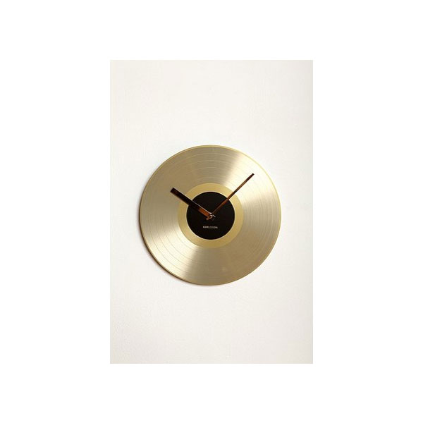 Gold Record Clock ($42)