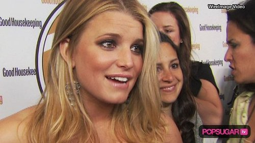 Video of Jessica Simpson and Ken Paves on the Red Carpet in New York City